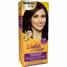 Coloração Salon Line Light Color 3.66 Bordeaux Profundo
