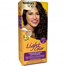 Coloração Salon Line Light Color 4.77 Café Intenso
