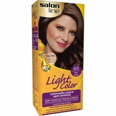 Coloração Salon Line Light Color 6.0 Louro Escuro