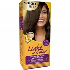 Coloração Salon Line Light Color 6.71 Marrom Acinzentado