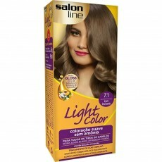 Coloração Salon Line Light Color 7.41 Louro Fascinante