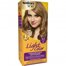 Coloração Salon Line Light Color 8.0 Louro Claro