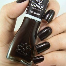 Esmalte Dailus Cremoso Brownie - 8ml