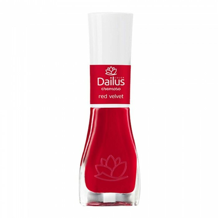 Esmalte Dailus Cremoso Red Velvet - 8ml