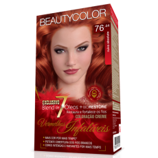 Tintura Beauty Color Kit 76.44 Ruivo Absoluto