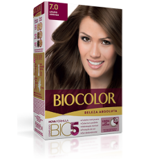 Kit Tintura Biocolor 7.0 Louro Arraso
