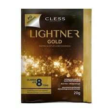 Pó Descolorante Rápido Lightner Gold Dust Free - 20g