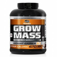 Grow Mass Hipercalórico Chocolate Unilife 3kg
