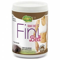 Shake Diet com Colágeno Fini Belt Unilife Chocolate 400g