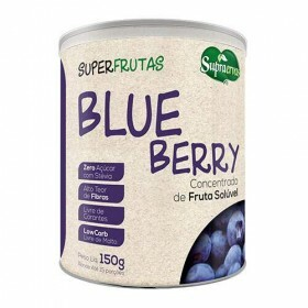 Blueberry Concentrado Solúvel SupraErvas 150g