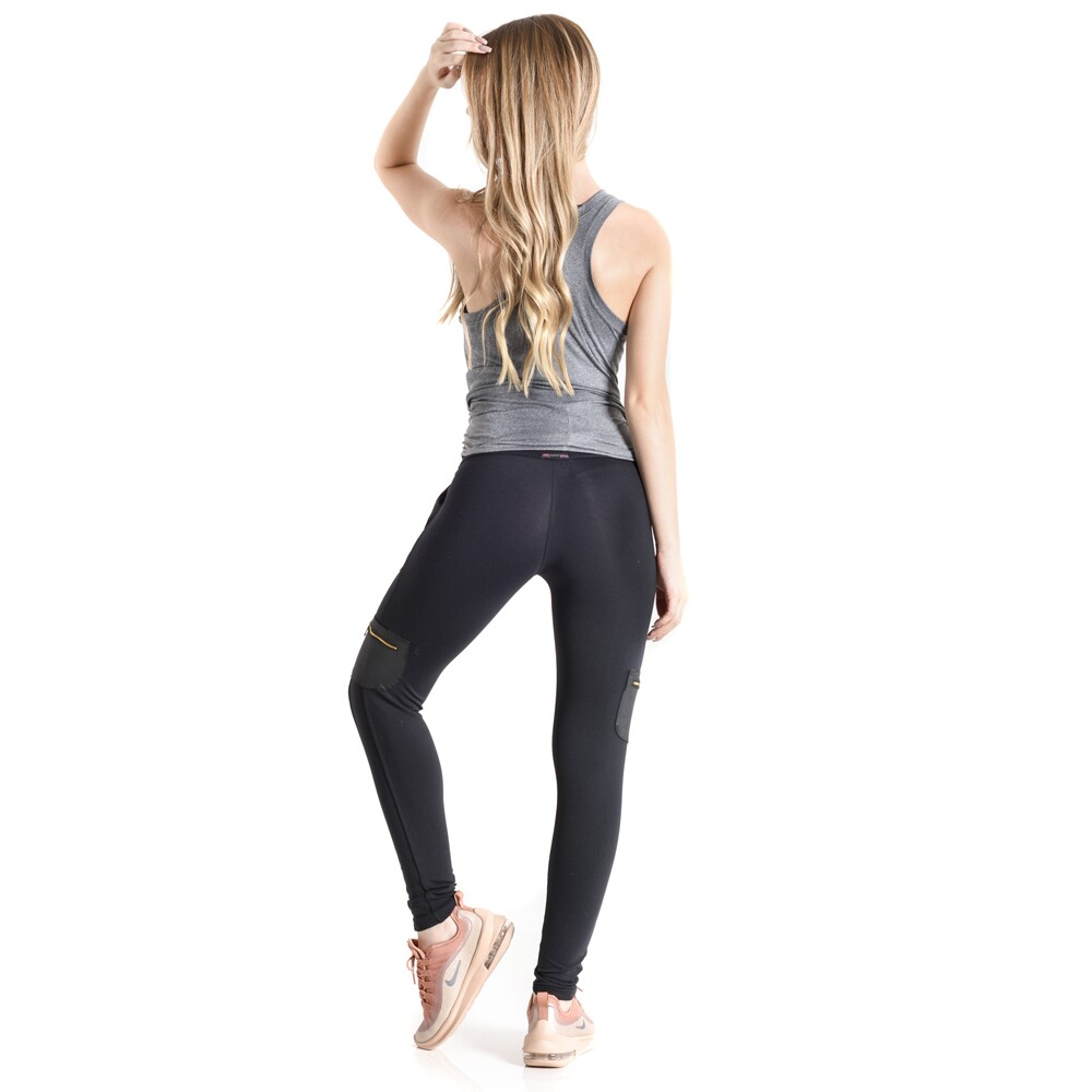 Calça Legging Casual Progress Mama Latina