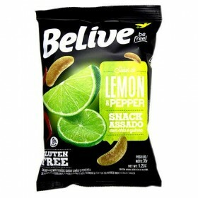 Snack Multigrãos Sabor Lemon Pepper Belive 35g