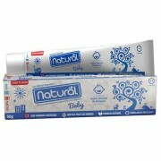 Gel Dental Natural Baby com Extratos de Banana, Camomila e Erva Cidreira 50g - Orgânico Natural