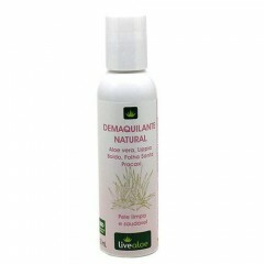 Demaquilante Natural Aloe Vera Livealoe 120ml