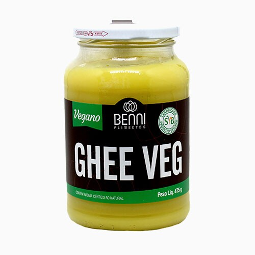 Manteiga Ghee Veg Benni 475g