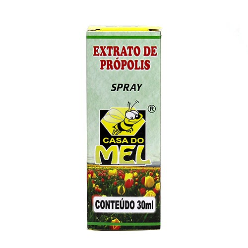 Spray Extrato de Própolis Casa do Mel 30ml
