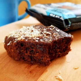 Brownie Zero Sabor Chocolate e Coco Belive 40g