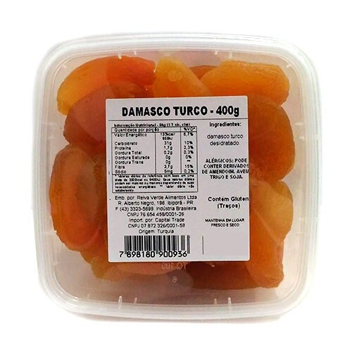 Damasco Turco Doce 400g