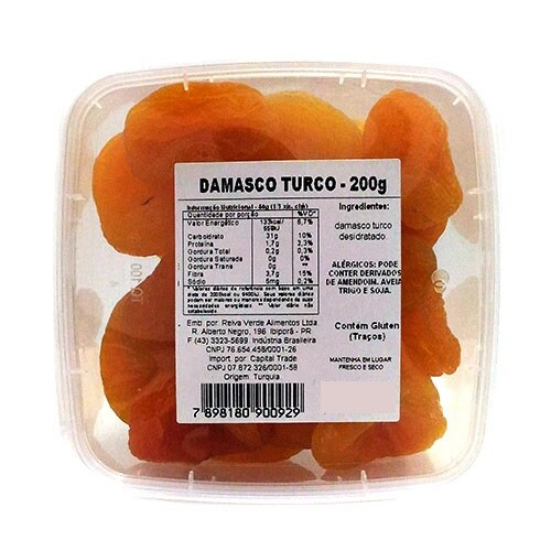 Damasco Turco Doce 200g