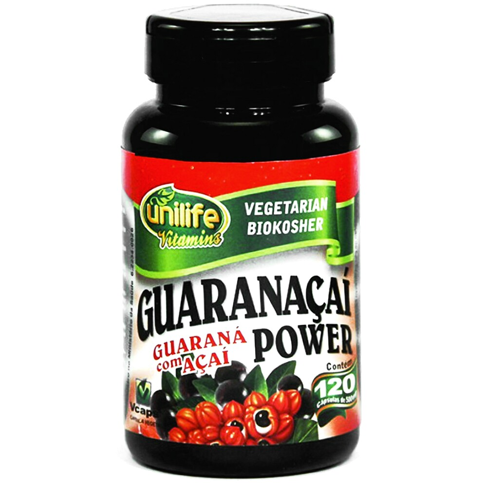 Guaranaçaí Power Unilife 120 cápsulas