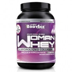 Woman Whey Isolado e Concentrado sabor Chocolate Unilife 900g