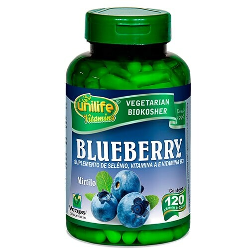 Blueberry Unilife 120 cápsulas