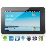 TABLET 7 COM TELA CAPACITIVA, HDMI, WIFI, SUPORTE 3G, 1GHZ E ANDROID 4.0
