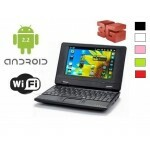 Netbook 7 - Android 2.2, 4GB, 256 MB, WiFi, 3G - diversas Cores
