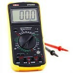 Multimeter Xiole DT9205A Yellow Black Large