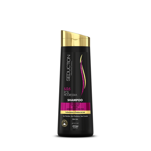 Shampoo  Pós Progressiva  450ml -Eico Seduction