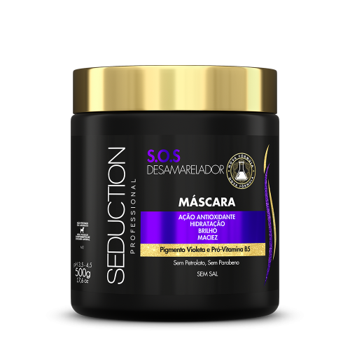 Máscara Desamarelador  450ml -Eico Seduction