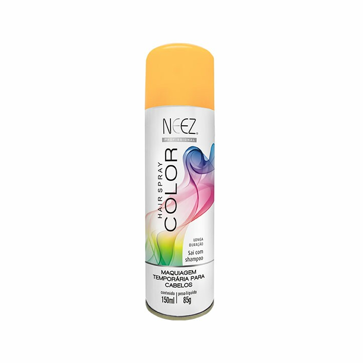 Hair Spray Colors Neez Laranja