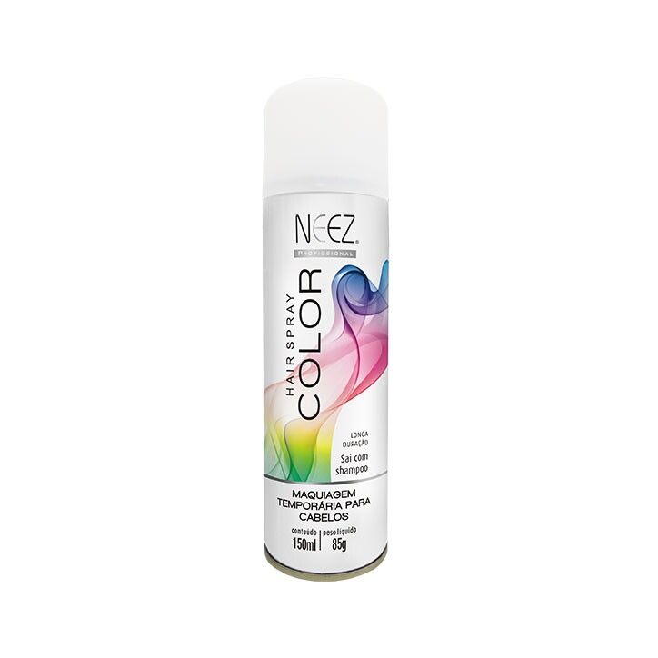 Hair Spray Colors Neez Branco