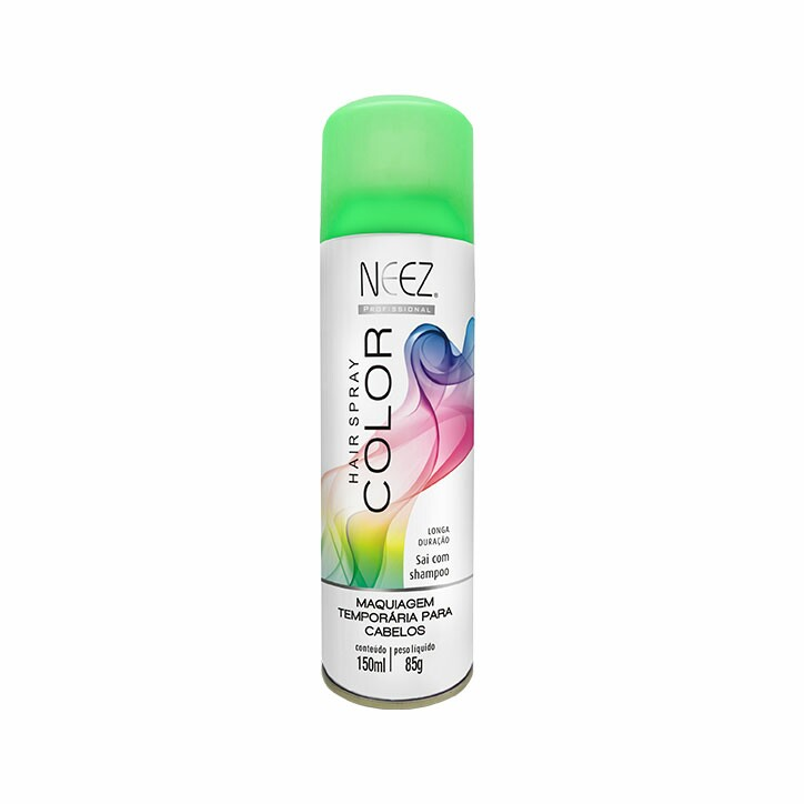 Hair Spray Colors Neez Verde