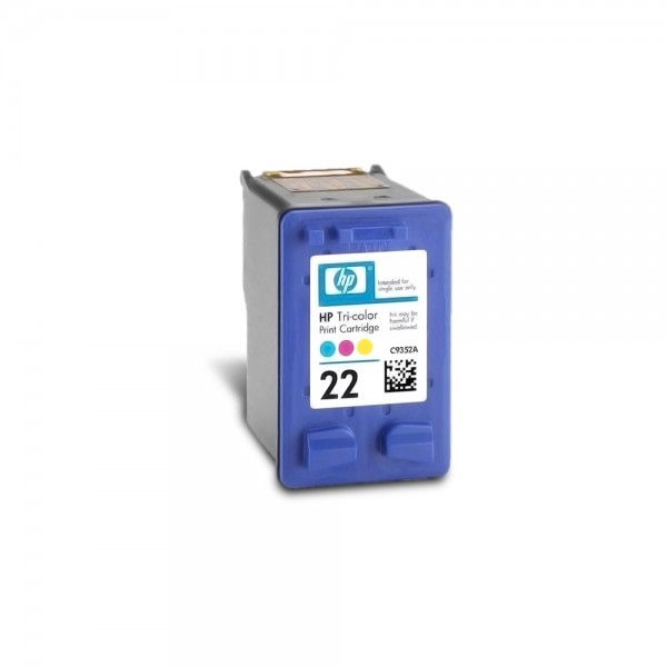Cartucho de Tinta HP 22 Color C9352AB