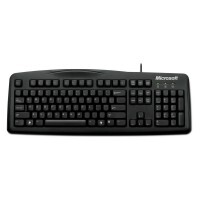 Teclado Wired Keyboard USB 200 Preto Microsoft