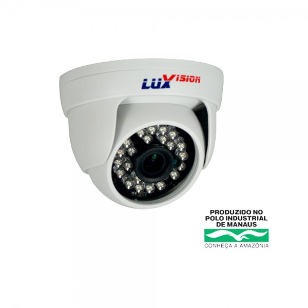 Camera Ahd Dome 1Mp 25m 2.8mm LVC5110DN Luxvision