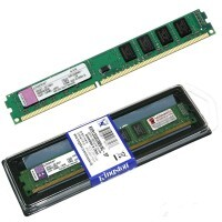 Memória PC DDR3 4GB / 1600Mhz - 12800 BOX Kingston