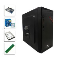 Desktop Basic VIII - Dual Core G1840 - Gabinete 503B1 New Drive - PC ware - DDR3 4gb - HD 1 Tera