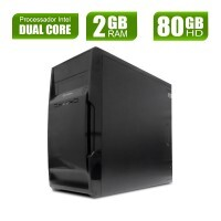 Desktop Dual Core - IPX 1800 - DDR3 2gb - 80gb Basic I x10