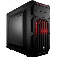 Gabinete Gamer Corsair Carbide SPEC-03 Red Led Mid Tower