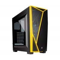 Gabinete Gamer Corsair Carbide SPEC-04 Black/Yellow