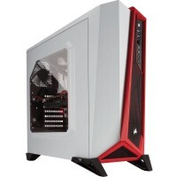 Gabinete Gamer Corsair Carbide SPEC-ALPHA White/Red