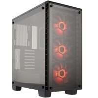 Gabinete Gamer Corsair Crystal Series 460X Compact Mid-Tower