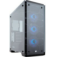 Gabinete Gamer Corsair Crystal Series 570X RGB Mid-Tower