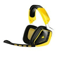 Headset Corsair VOID Wireless Dolby 7.1 USB Gamer Yellowjacket