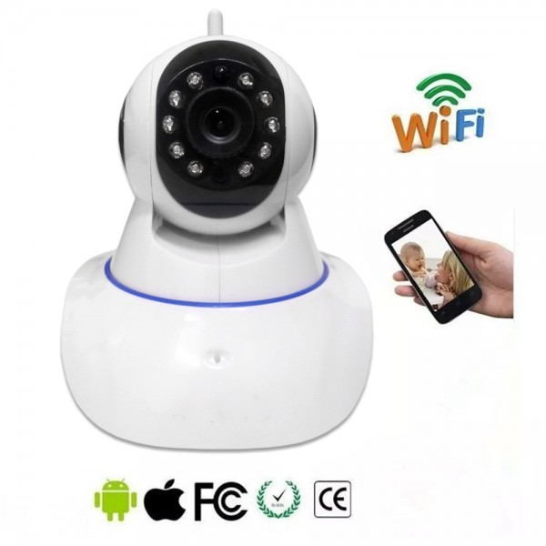 Camera IP Wifi Onvif HD Audio JT-100BW-1 1.0MP Robo