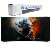 Mouse Pad Gamer Extra Grande 700x350x3mm Assassino