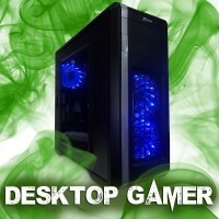 Desktop Gamer - Intel i5, Placa-Mãe 1155, R5 230 2Gb, 4Gb Ddr3, Hd 1 Tb, SSD 120Gb, Fonte 400W