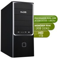 Desktop Integrado Atom D2500 - DDR3 2Gb - Hd 1Tb